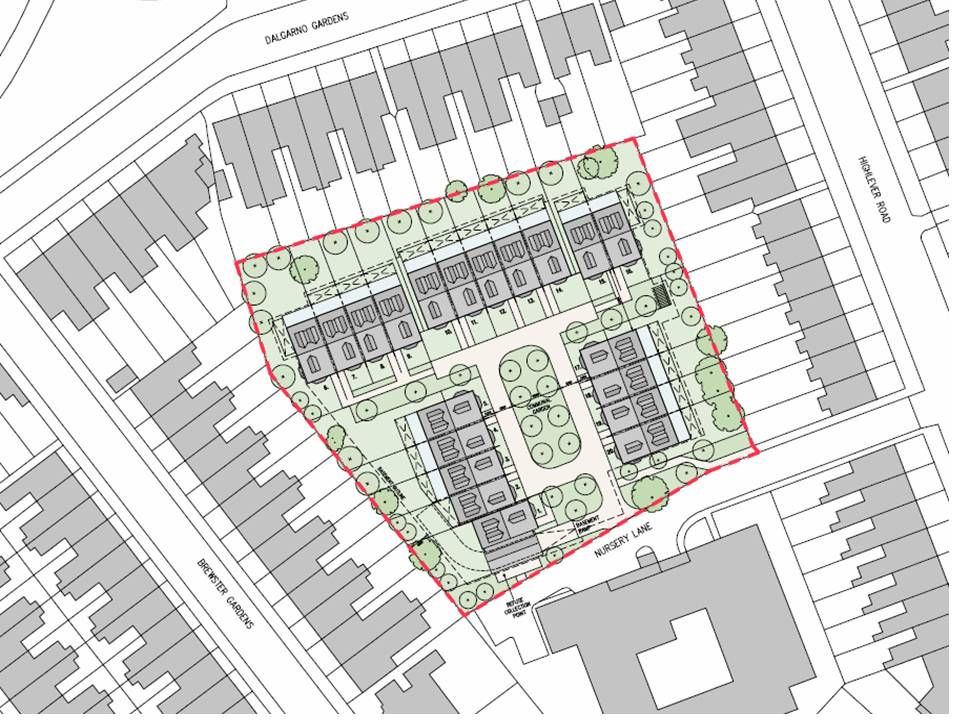 Nursery lane 2015 site plan