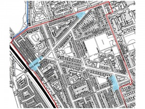 The three shopping parades at Barlby Road, North Pole Road and St Helens Gardens, to which StQW Draft Policy 7a would apply